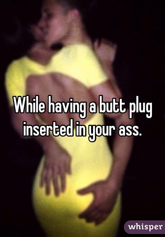 Butt ass plug