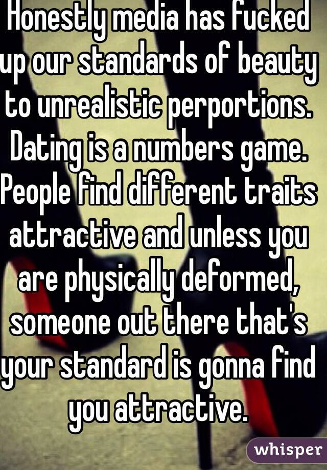 What are your dating standards