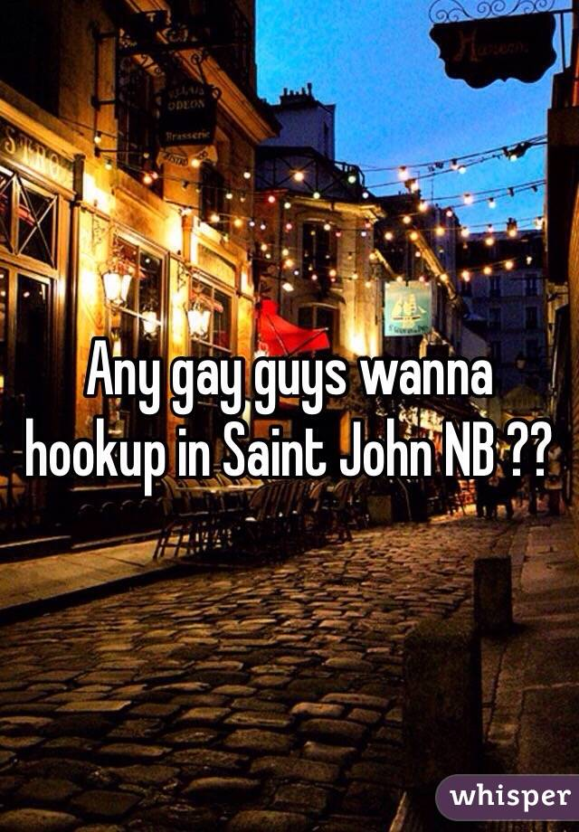 Hook up in saint john nb