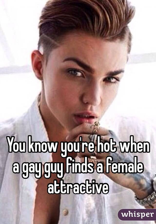how would you know if a guy is gay