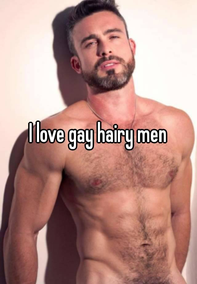 Gay very hairy men