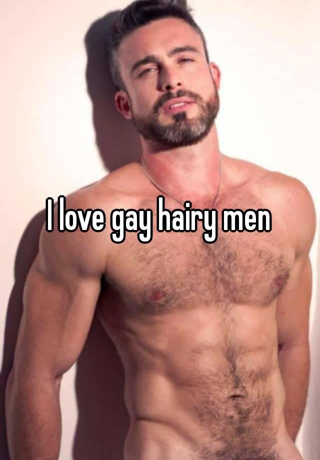 Gay very hairy men
