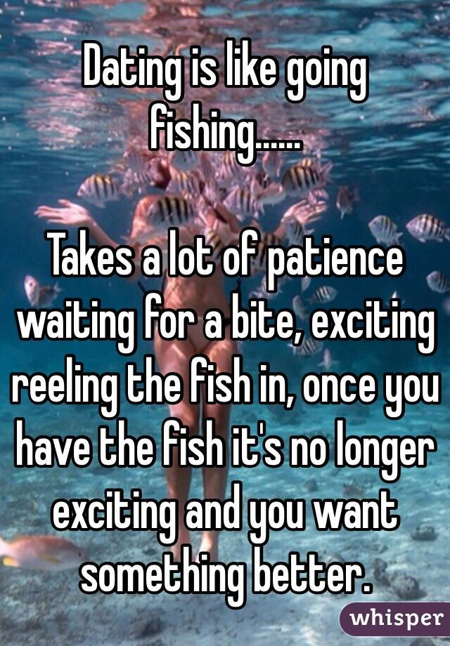 No I Dating For Have Patience