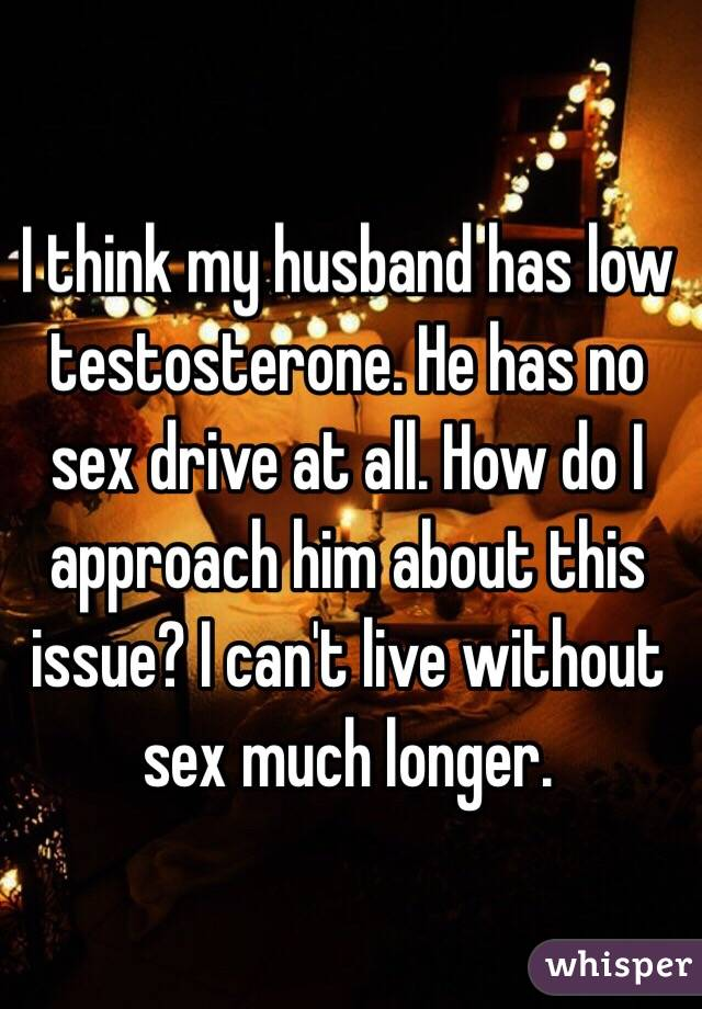 Husband has no sex drive images 75