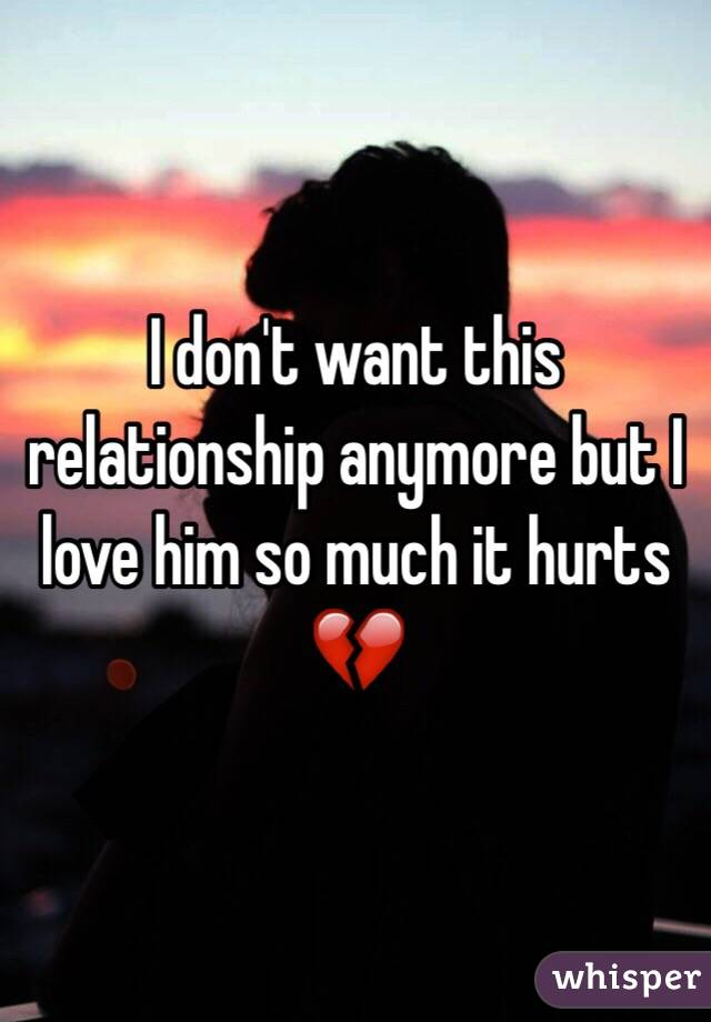 Don t want a relationship