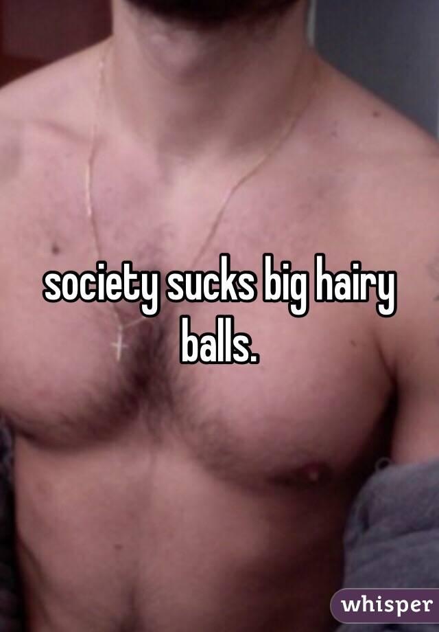 Big hairy bollocks
