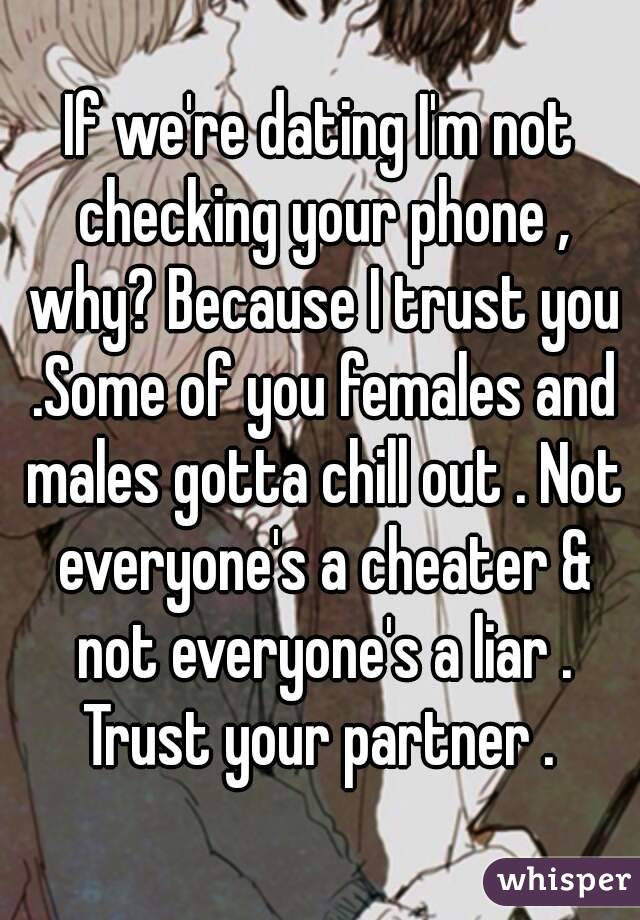 dating a liar and cheater