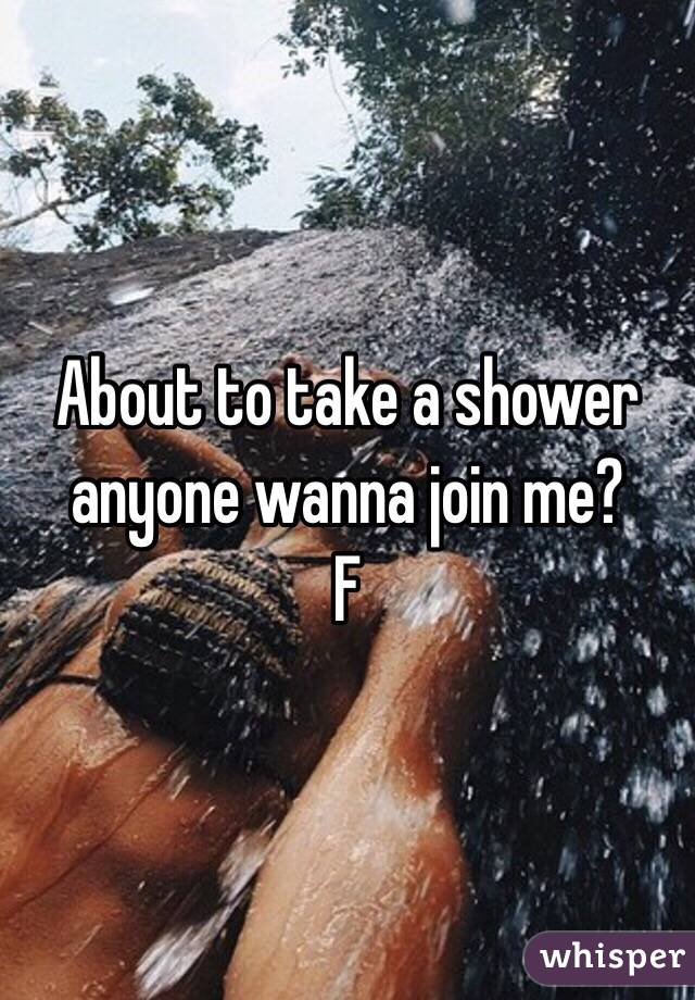 Join me in the shower