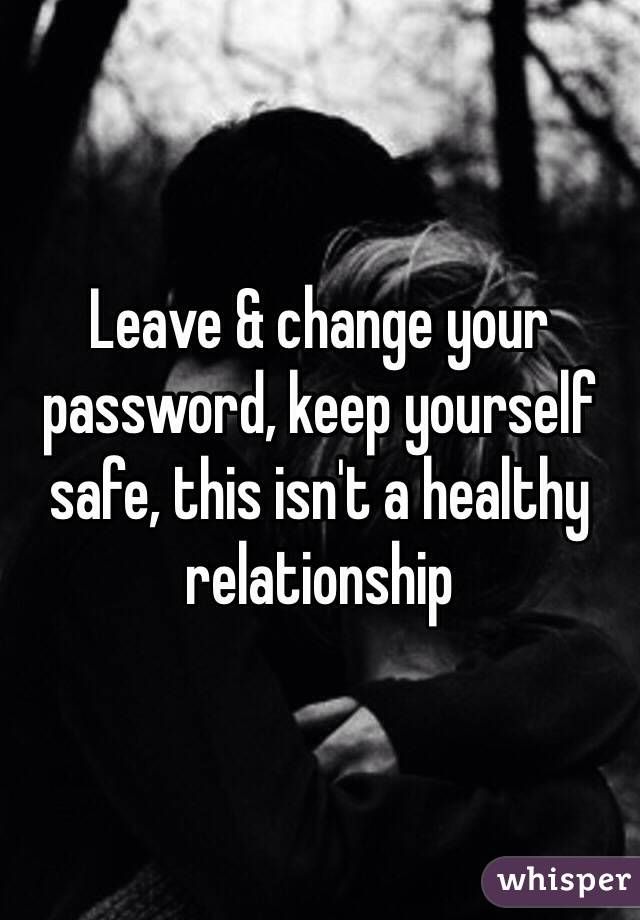 Changing yourself for a relationship