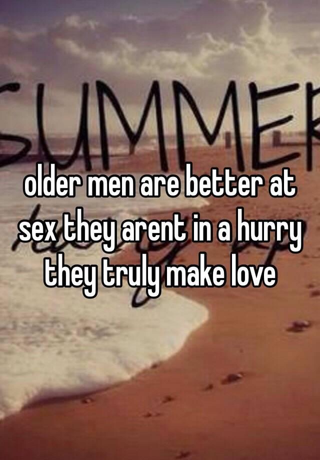 Better sex for old men