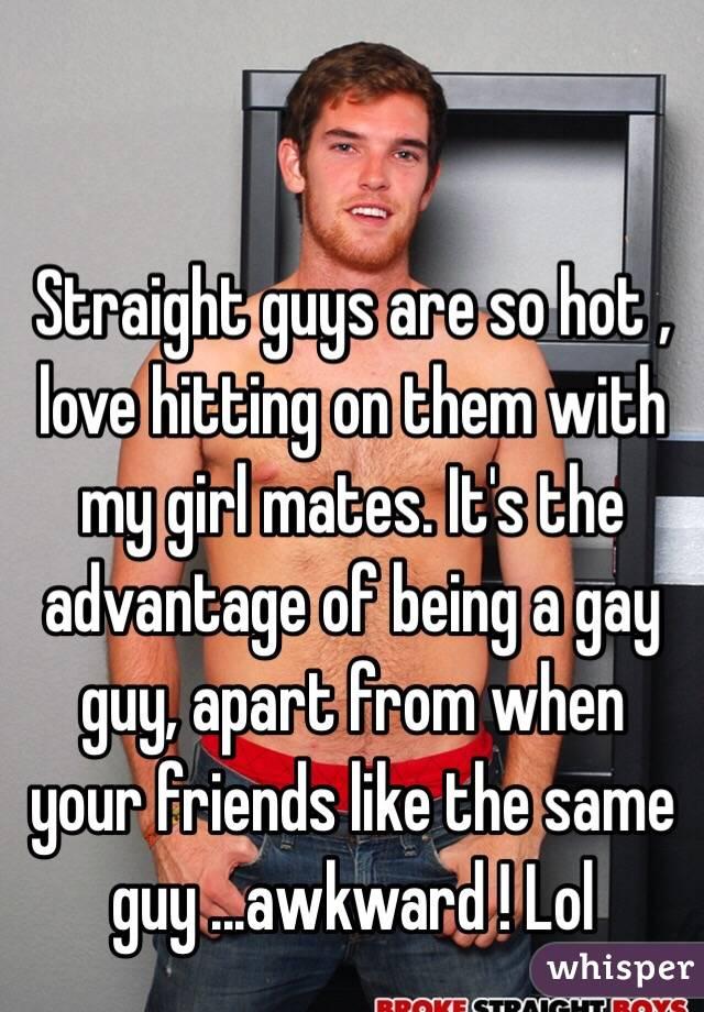 Hot straight men gay