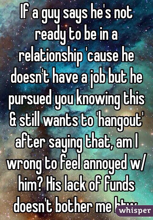 Says Feeling A You When Hes Guy
