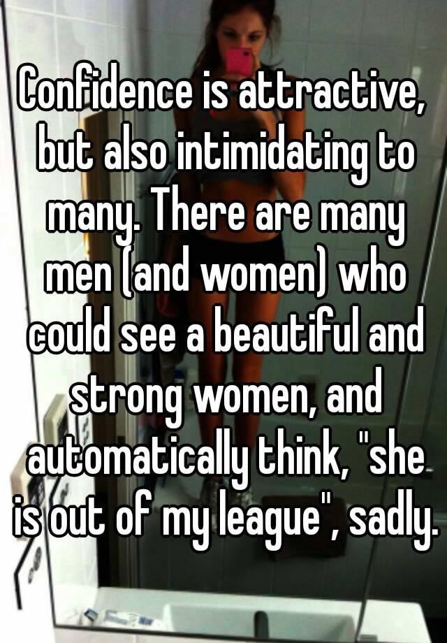 Beautiful intimidating women