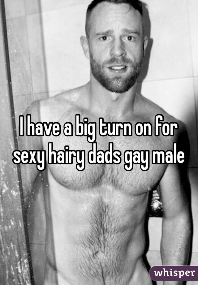 Sexy hairy gay men