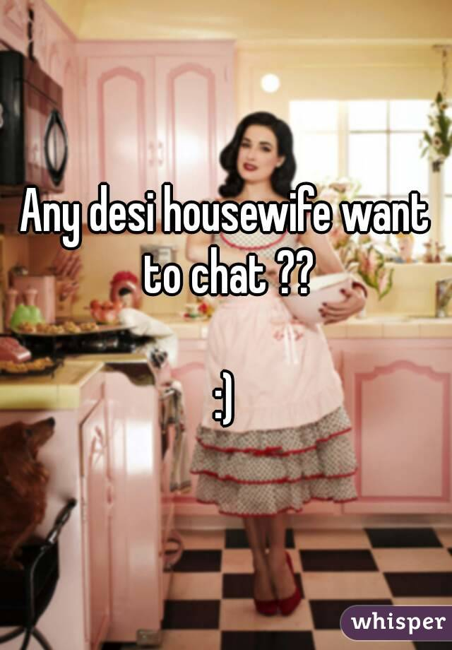 Housewife chat room