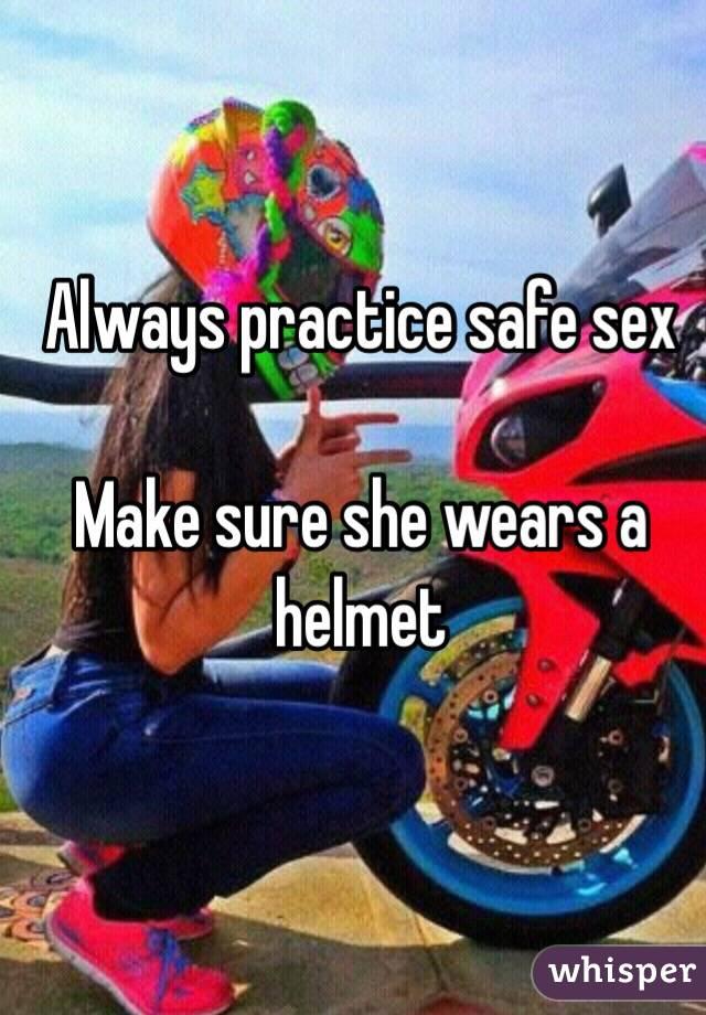 Helmet sex