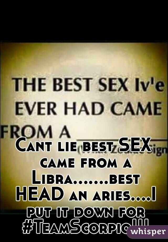 Aries libra sexual compatibility