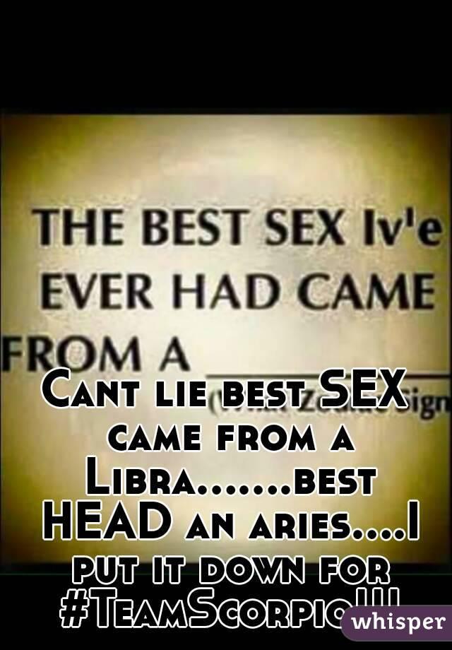 Aries libra sexual compatibility