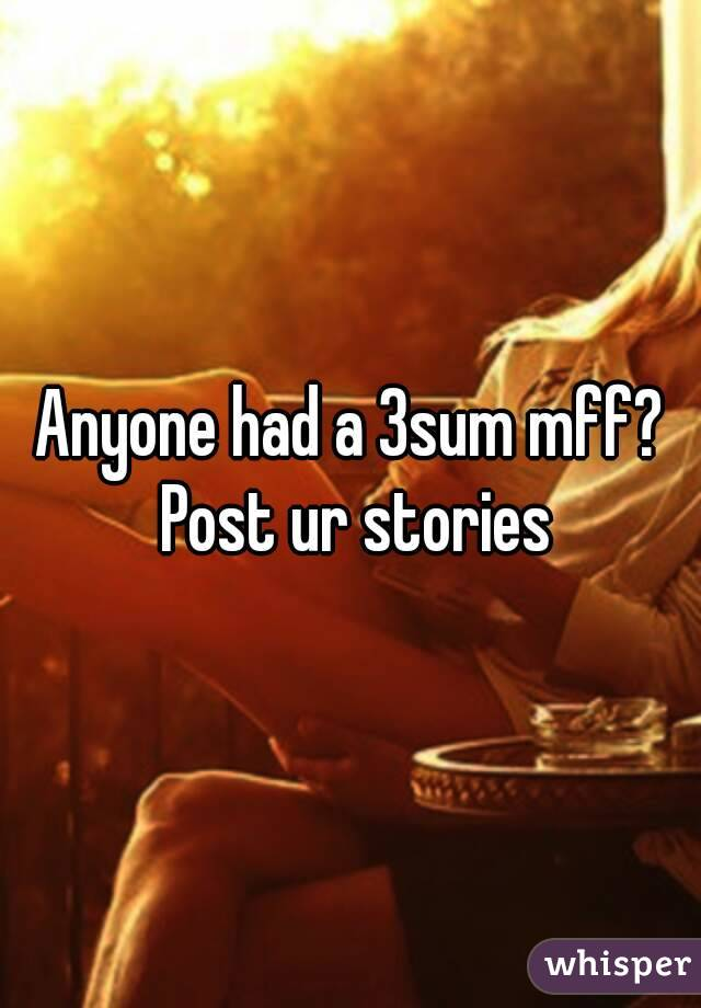 mff Adult stories