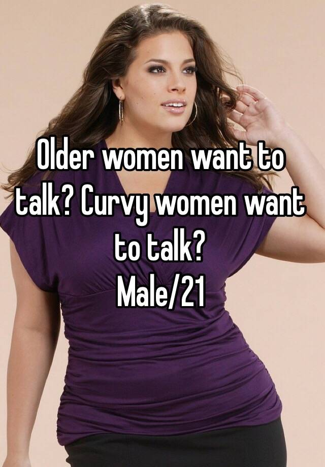 How to talk to older ladies