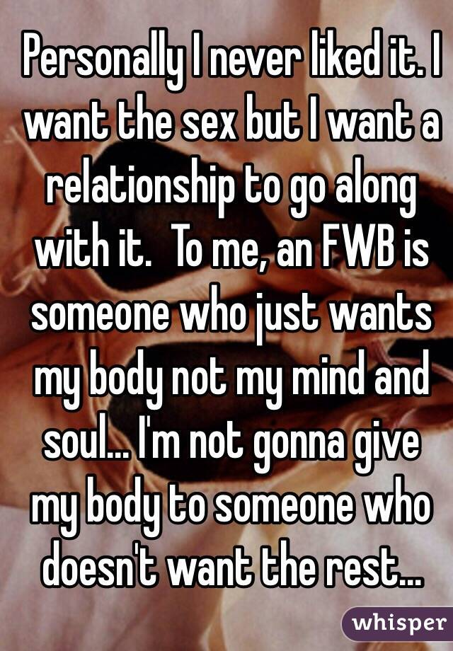Why my mind body wants sex