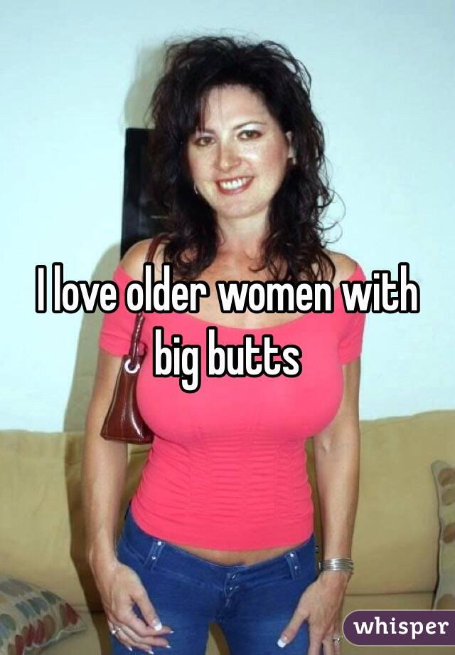 Older women with nice butts