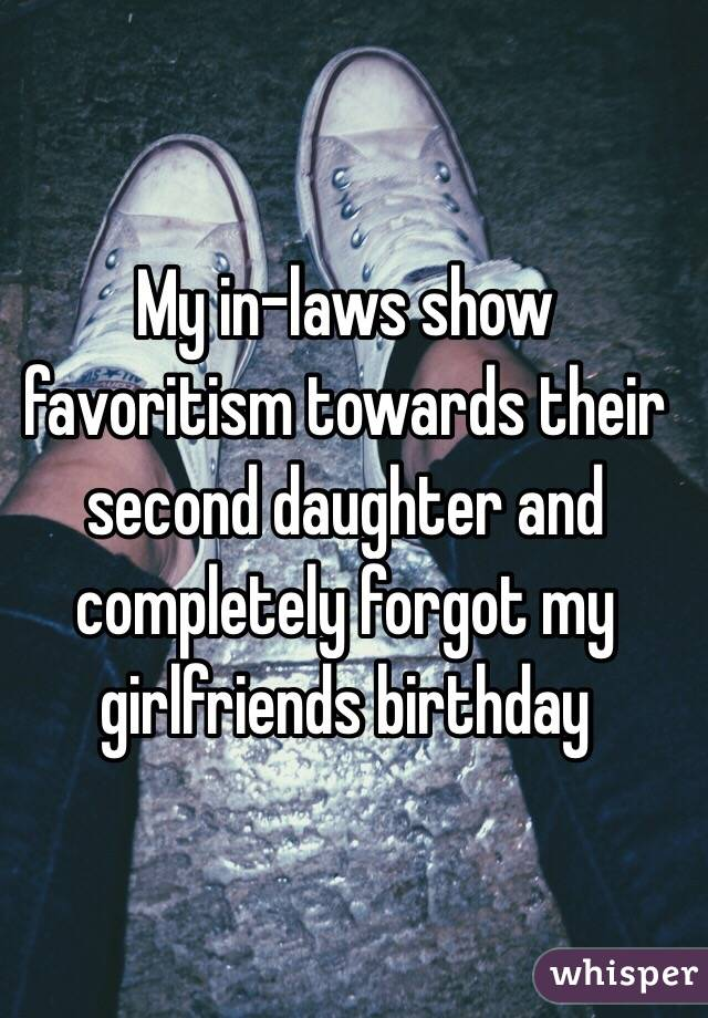 My In Laws Show Favoritism Towards Their Second Daughter And Completely Forgot Girlfriends Birthday