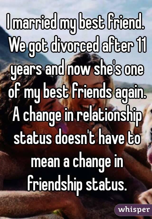 Divorced no friends