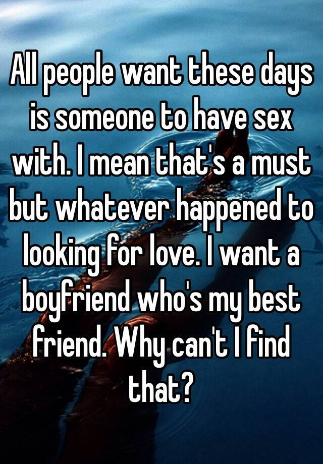 Find people to have sex with