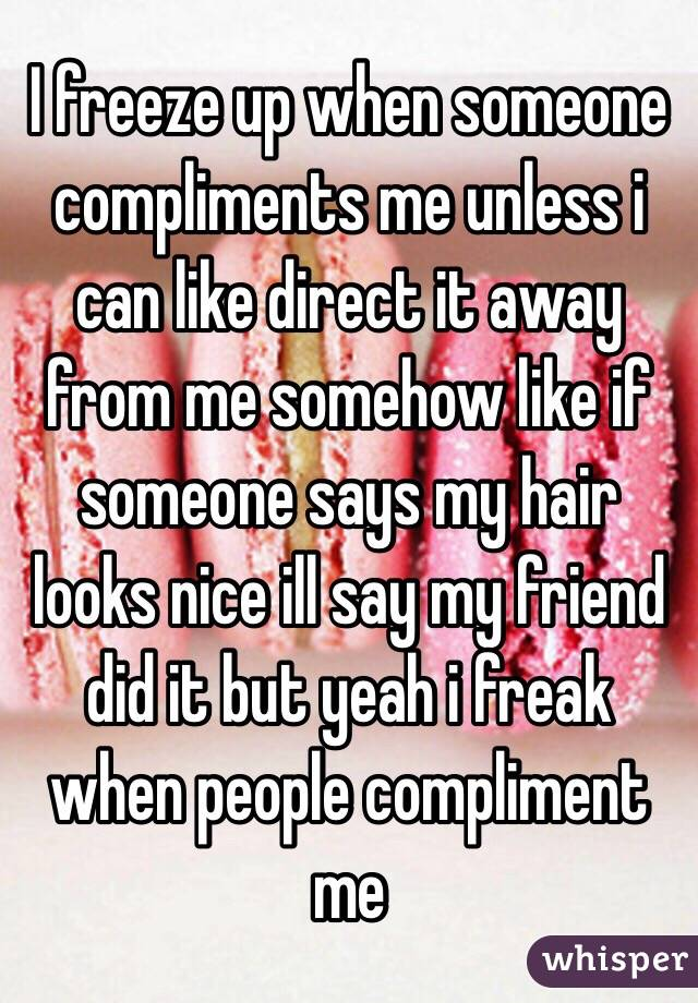 compliments on looks