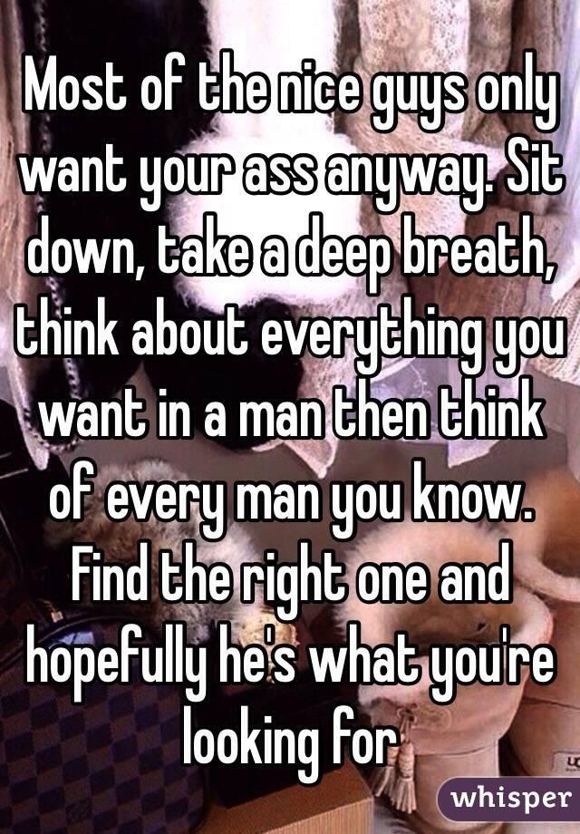 Men taking it in ass deep