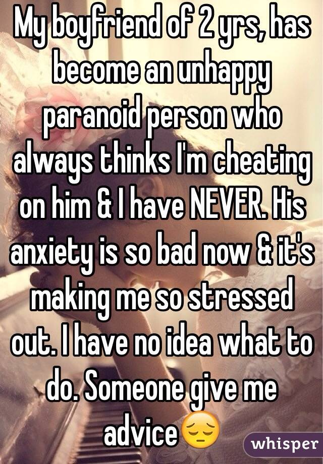 dating a stressed out boyfriend