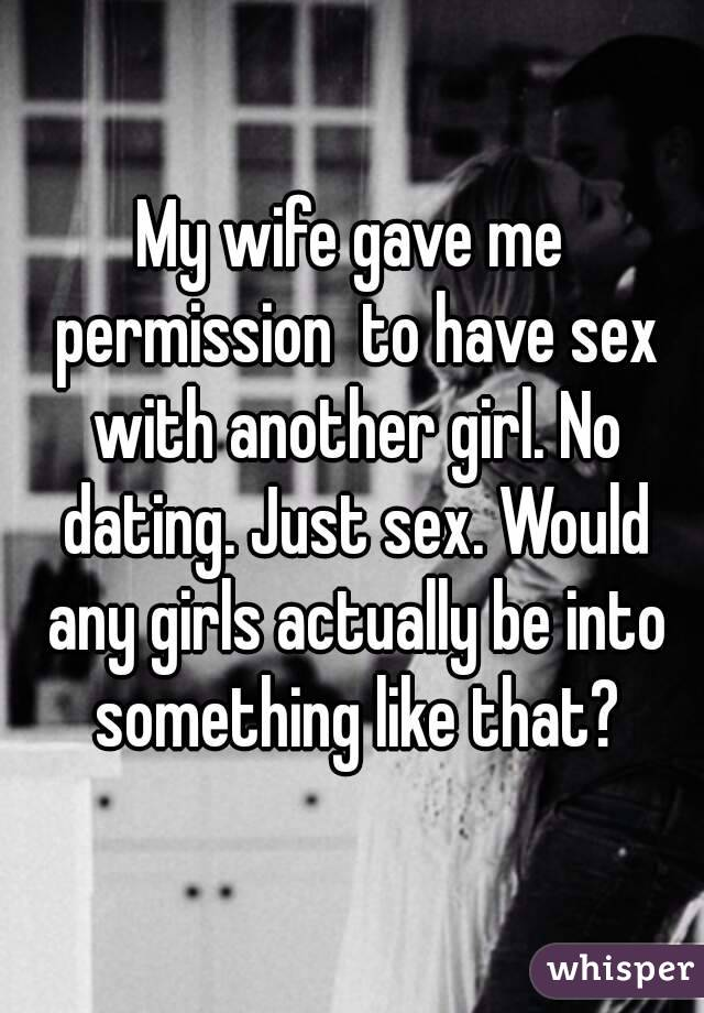 Just sex dating