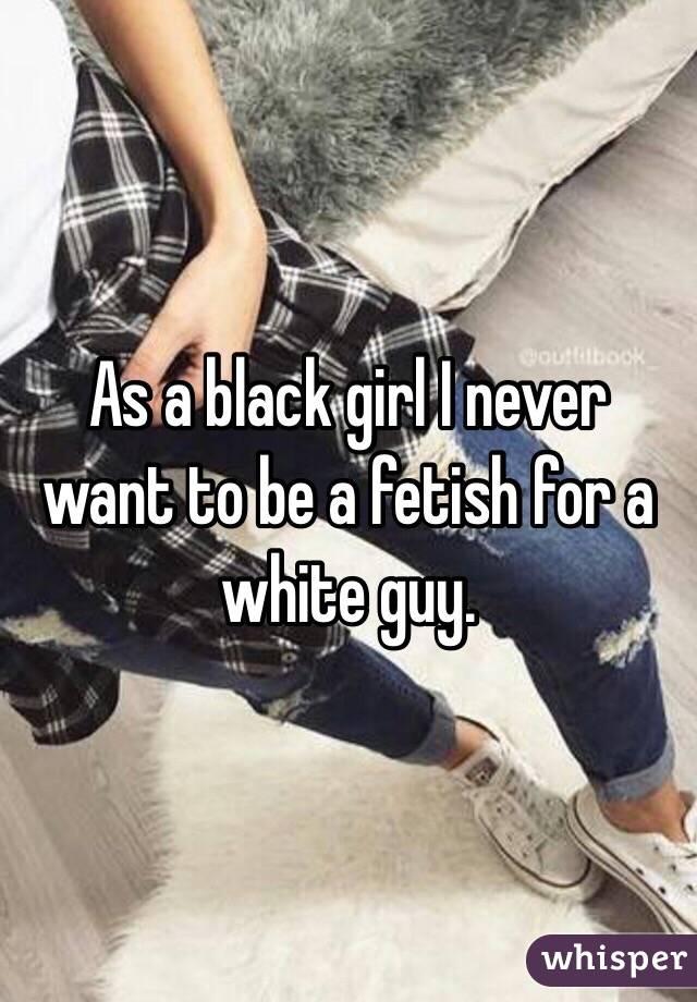 white guy fetish