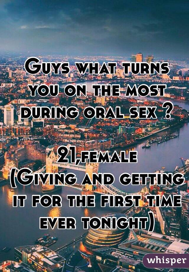 What turns you on sexually