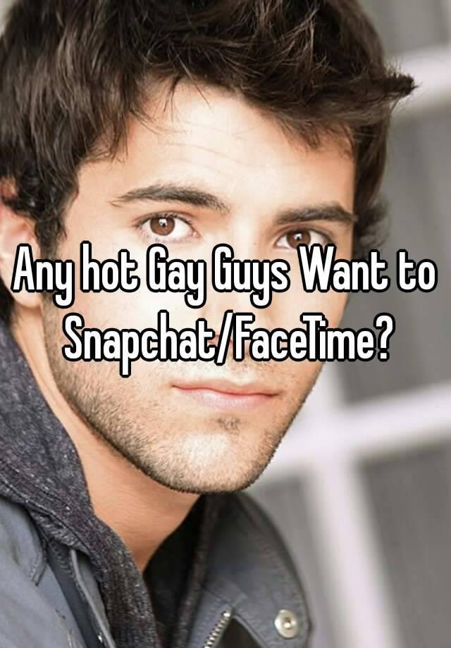 Facetime gay people