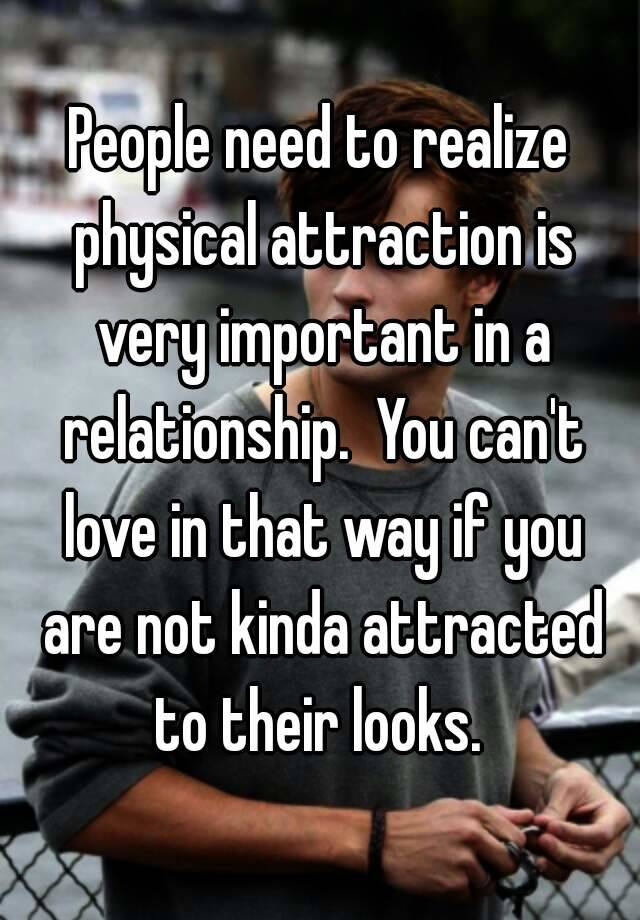 Is physical attraction important