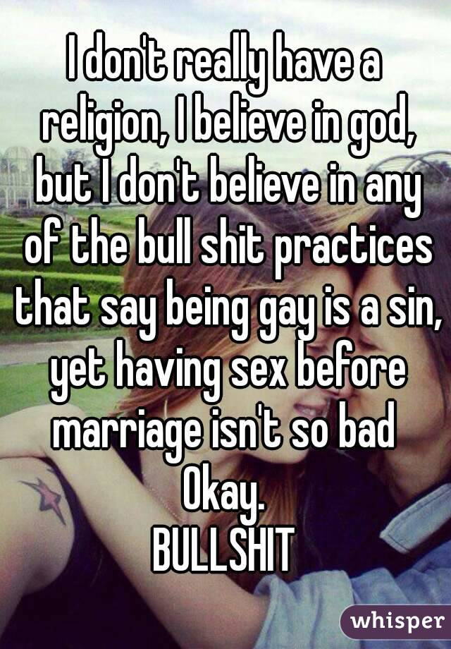 Is It Bad To Have Sex Before Marriage