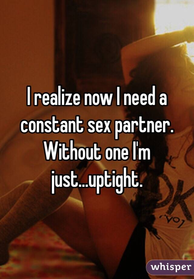 Need a sex partner