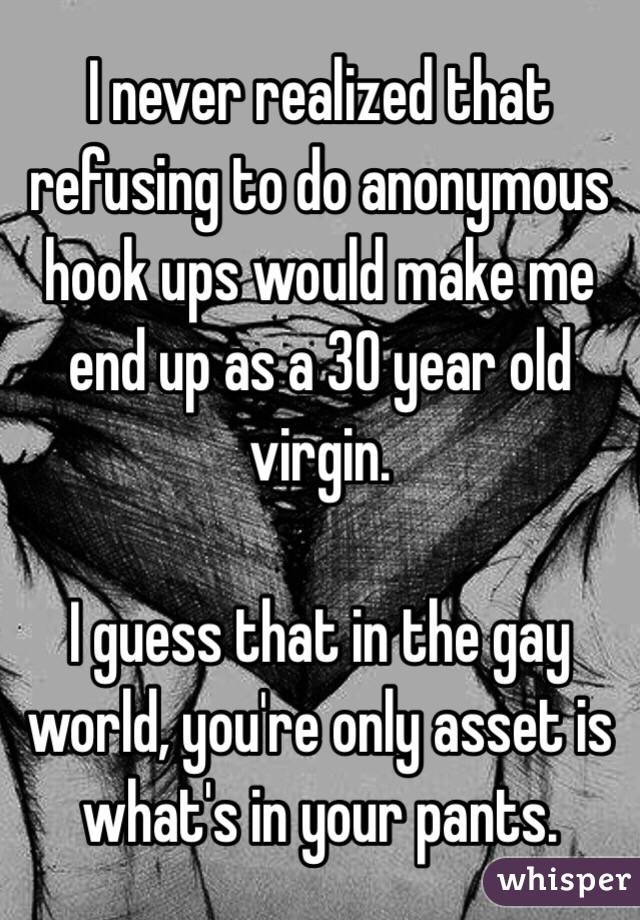 Anonymous gay hook up