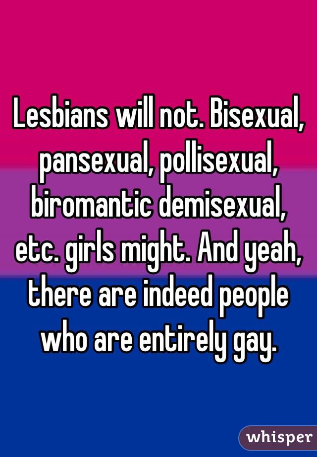 demisexual vs pansexual
