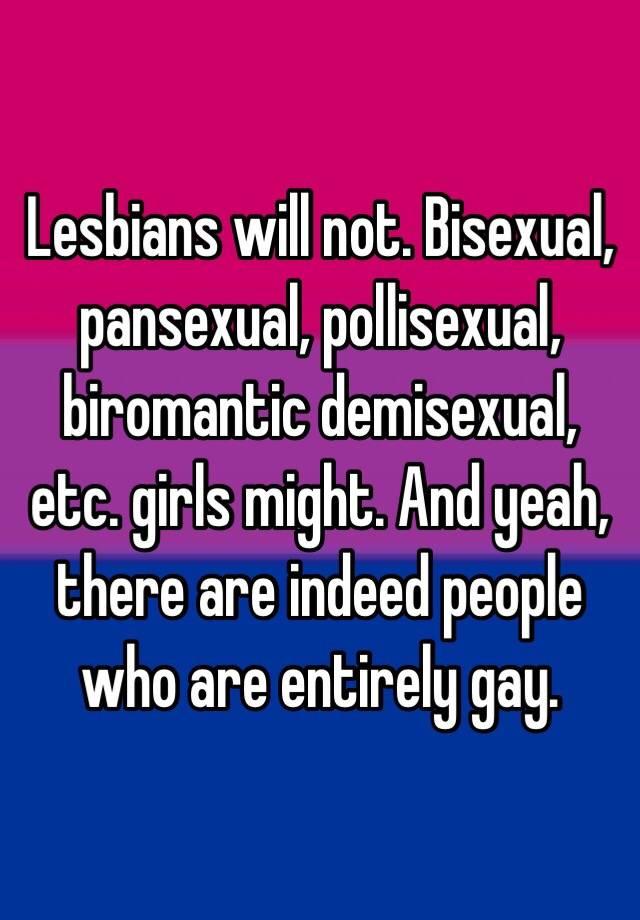 Biromantic demisexual definition