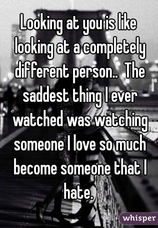 loving someone completely different from you