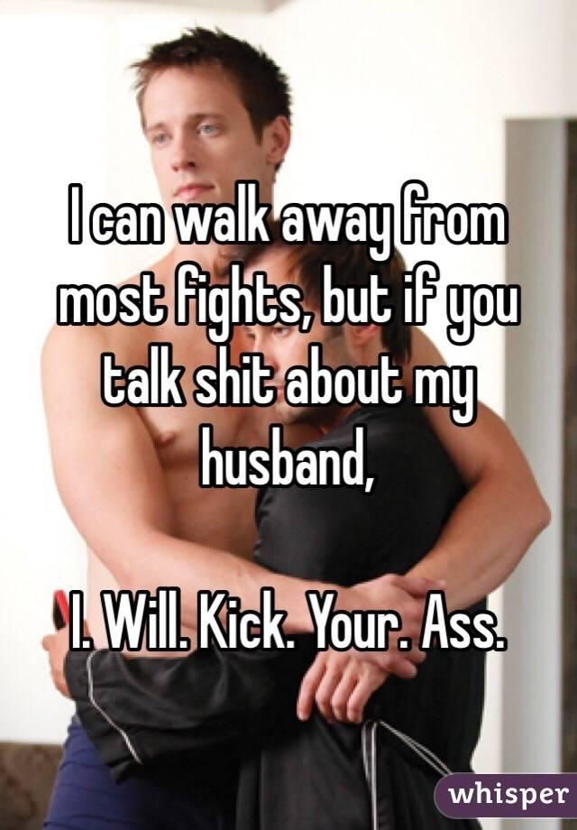 Husband and wife ass talk