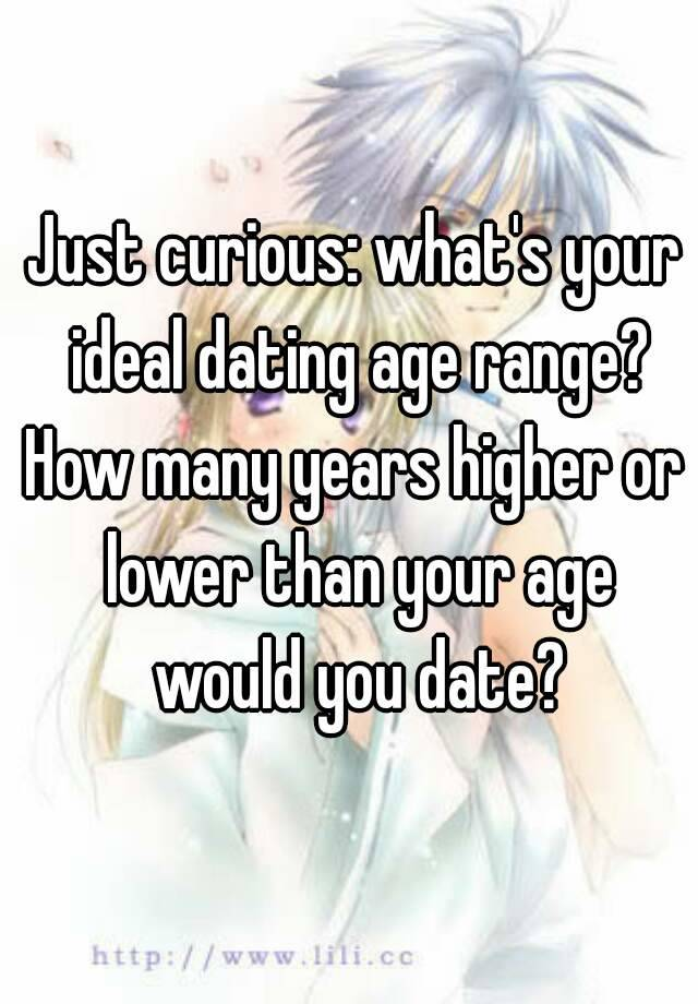 Ideal Dating Age Range
