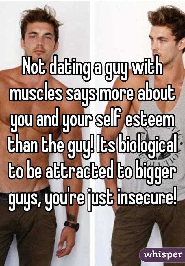 Dating a bigger guy