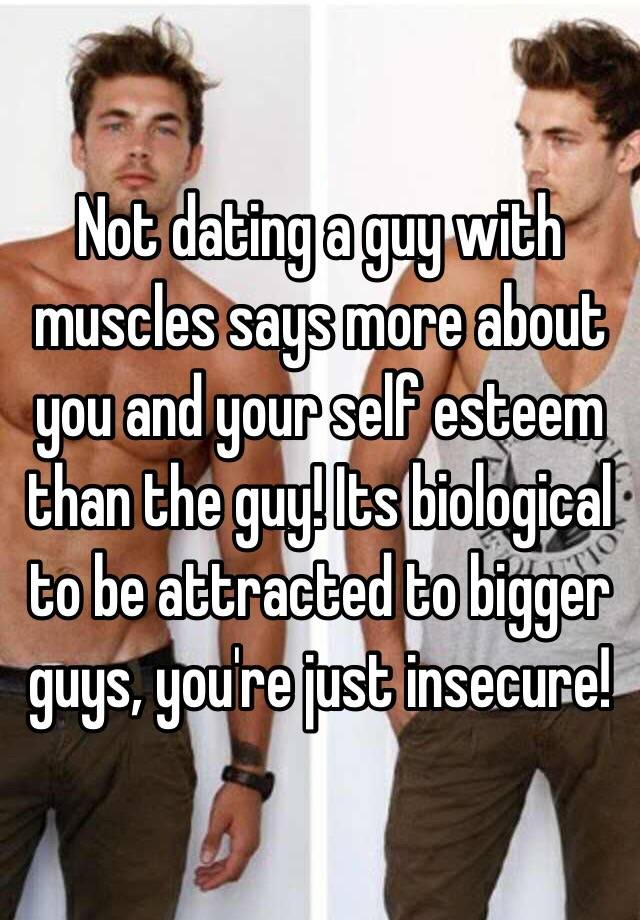 dating guys youre not attracted to