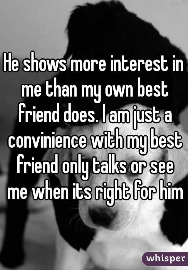 my own best friend