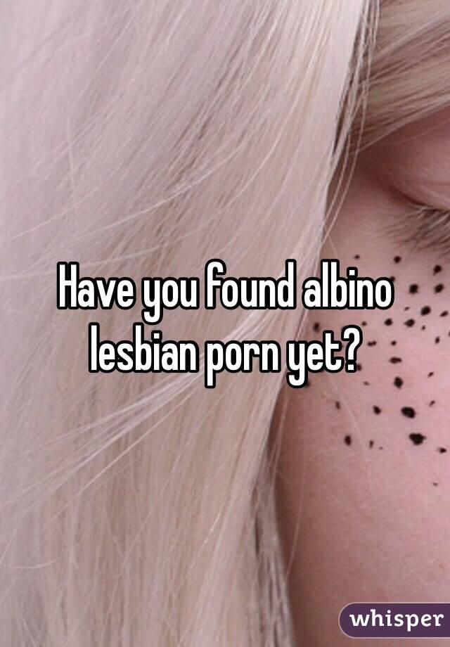 albinc-woman-porn