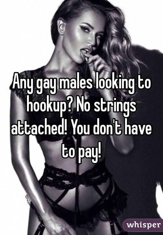 No strings attached hookup